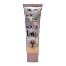 Base Líquida Natural Look Bege 7 - Ruby Rose