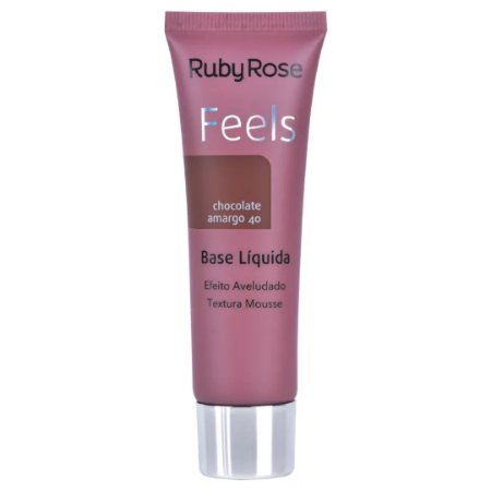 Base Feels Chocolate Amargo 40 - Ruby Rose
