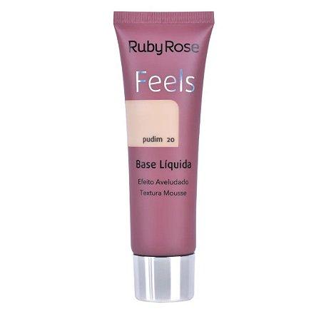 Base Feels Pudim 20 - Ruby Rose