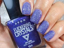 Esmalte Crystals azul galaxia