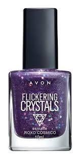 Esmalte Crystals roxo cósmico
