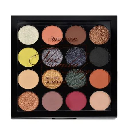 Paleta de Sombras + Primer The Candy Shop Ruby Rose HB-1017