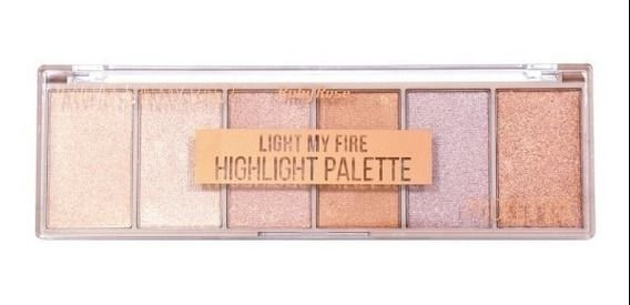 Paleta de Iluminador Light My Fire HB 7512 - Ruby Rose