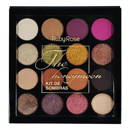 Paleta de Sombras The Honeymoon Ruby Rose HB-1022