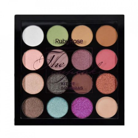 Paleta de Sombras + Primer The Cupcake Ruby Rose HB-1020