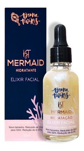 BT Mermaid - Elixir Facial Hidratante- Bruna Tavares