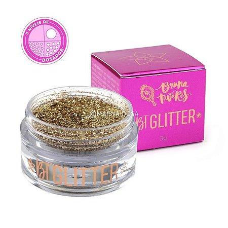 BT Glitter Gold Star Coleção Melrose Linha Bruna Tavares