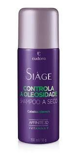 Shampoo A Seco Siáge Eudora Controla A Oleosidade
