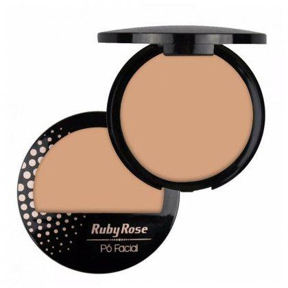 Pó Compacto Facial Ruby Rose HB7212 – PC02