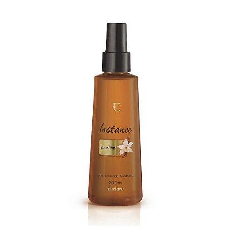 Spray Desodorante Perfumado Baunilha Instance Eudora 200ml