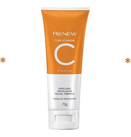 Máscara Esfoliante Facial Térmica Com Vitamina C Renew Avon