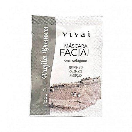 Máscara Facial de Argila Branca - Vivai