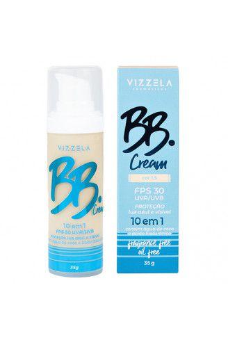 BB Cream Vegano 10 em 1 - Cor 1,5 - Vizzela