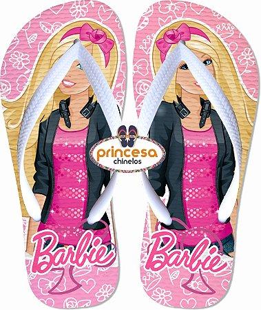 novo chinelo da barbie
