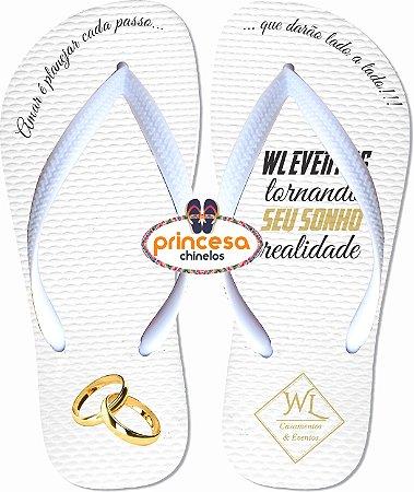 sandalias personalizadas para eventos WL Casamentos & Eventos