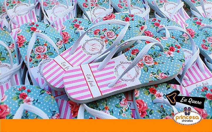 chinelos personalizados para lembrança de casamento - kit com 200 pares linha Premium