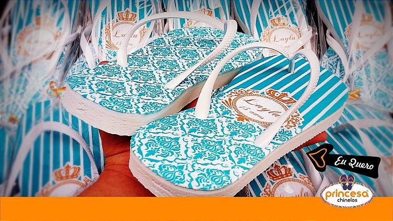 sandalia brinde casamento - kit com 120 pares linha Premium