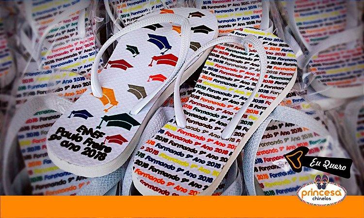 chinelos personalizados bh preço - kit com 190 pares linha Premium