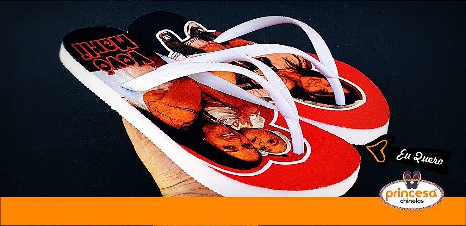 chinelos personalizados para formatura de direito - 1 par