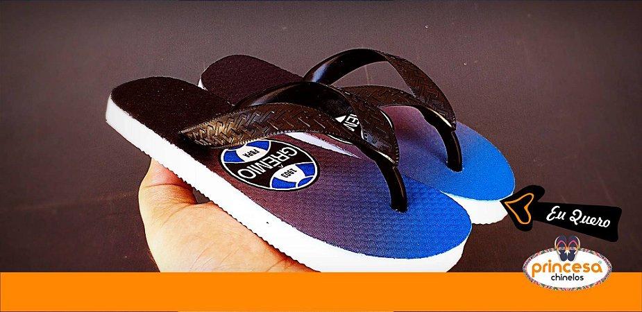 chinelos personalizados de times - 1 par