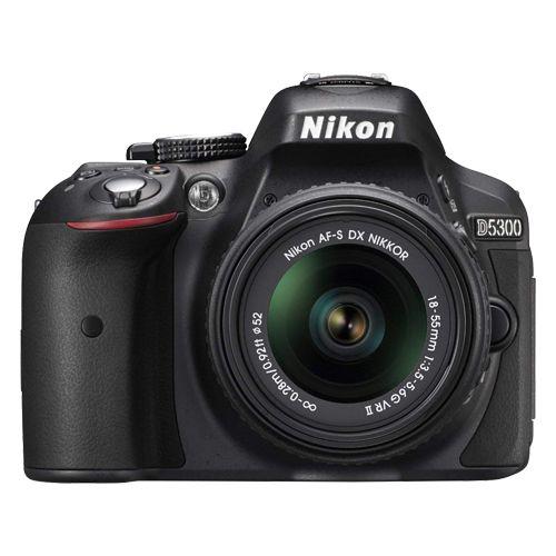 Câmera Nikon D5300 Kit AF-P 18-55mm f/3.5-5.6G VR