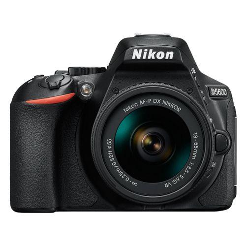 Câmera Nikon D5600 Kit AF-P 18-55mm f/3.5-5.6G VR