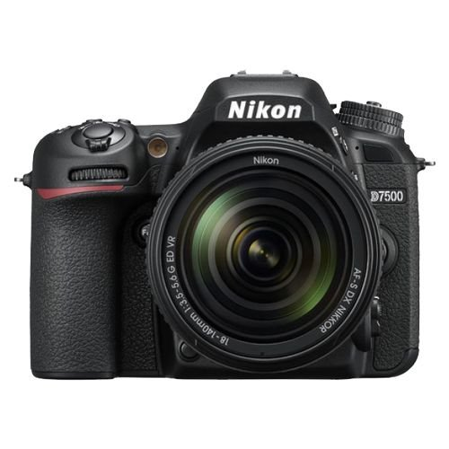 Câmera Nikon D7500 Kit AF-S 18-140mm f/3.5-5.6G VR