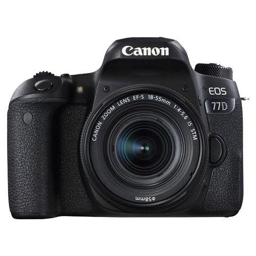Câmera Canon EOS 77D Kit 18-55mm f/3.5-5.6 IS STM