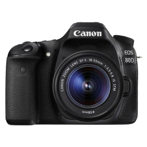 Câmera Canon EOS 80D Kit 18-55mm f/4-5.6 IS STM