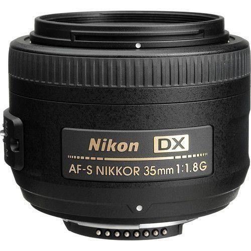LENTE NIKON AF-S 35mm f1.8 G DX