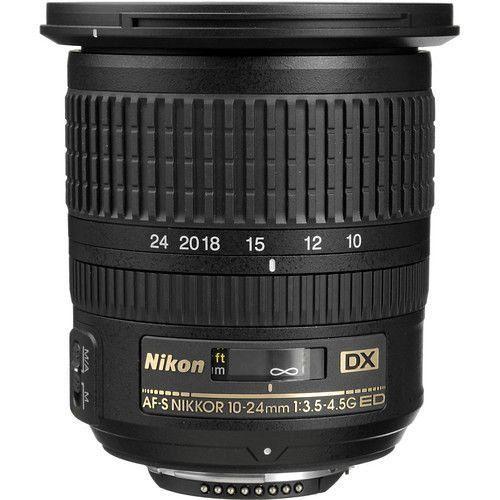 LENTE NIKON AF-S 10-24mm f/3.5-4.5 G ED DX