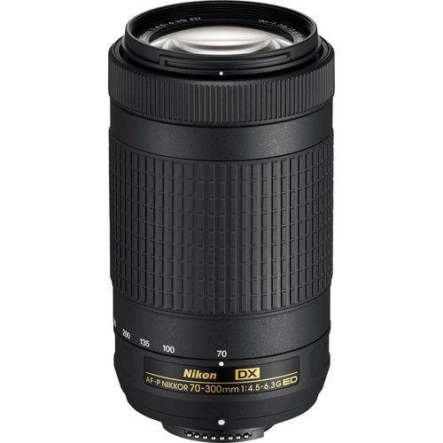 LENTE NIKON AF-P 70-300mm f/4.5-5.6 ED VR DX