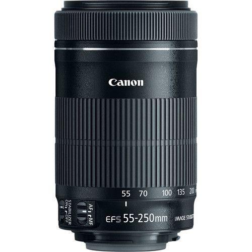 LENTE CANON EF-S 55-250 F4-5.6 IS STM