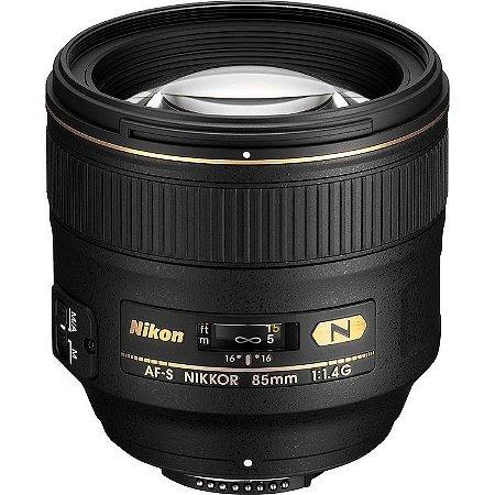 LENTE NIKON AF-S 85mm f/1.4G