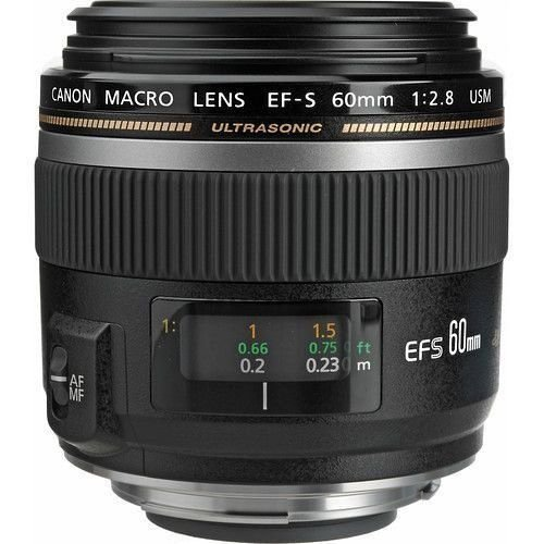 LENTE CANON EF-S 60MM F/2.8 MACRO USM
