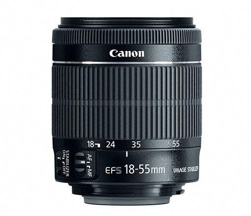 LENTE CANON EF-S 18-55MM F3.5-5.6 IS STM - SEM CAIXA
