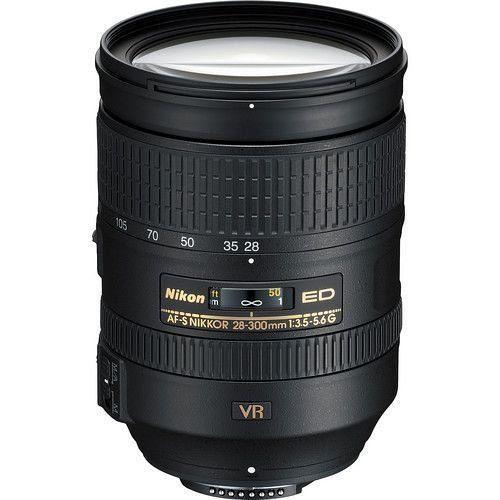LENTE NIKON AF-S 28-300mm f/3.5-5.6 G ED VR