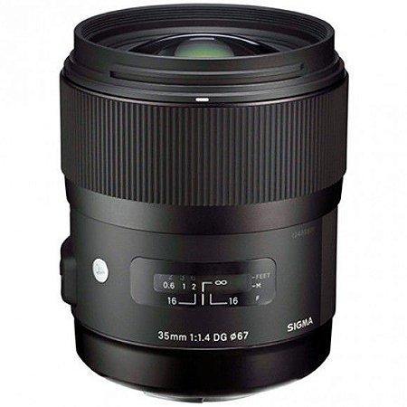 Lente Sigma 35mm f/1.4 DG HSM ART