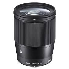 Lente Sigma 16mm F/1.4 Dn Para Sony