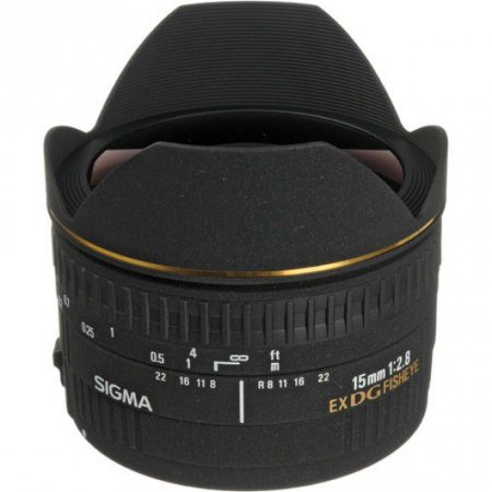 Lente Sigma 15mm f/2.8 EX DG Fisheye