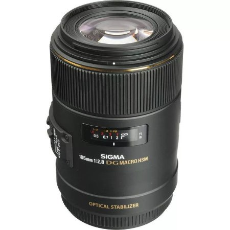 Lente Sigma 105mm f/2.8 EX DG OS HSM Macro