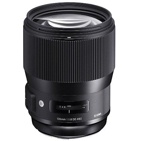 Lente Sigma 135mm f/1.8 DG HSM ART Para Sony
