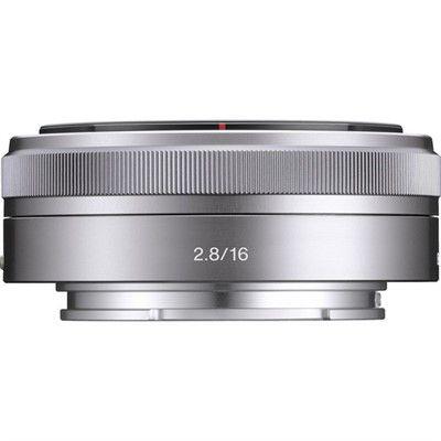 Lente Sony E 16mm F2.8