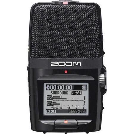 Gravador de Áudio Portátil Zoom H2N