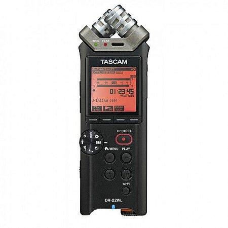 Gravador de Áudio Portátil DR-22WL WIFI
