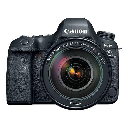 Câmera Canon EOS 6D Mark II Kit EF 24-105mm f/4L IS II USM
