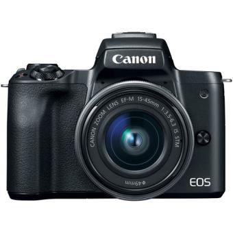 Câmera Canon EOS M50 Kit 15-45mm f/3.5-6.3 IS STM