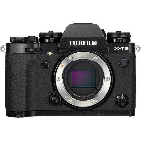 Câmera Digital Fujifilm X-T3 Corpo Preta