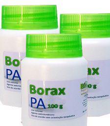 Borax PA - Kit 3 frascos