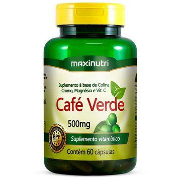 Café Verde - 60 Cáp - 500 mg